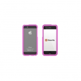 Capa Iphone 5 E 5S Aluminum Borders Xtrememac Rosa