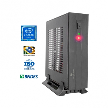 COMPUTADOR COMPUSONIC MINI (PCW J1800 / 4GB DDR3 / SSD 120GB / 60W) - SEM SERIAL