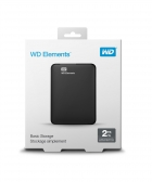 Hd Externo 2Tb Western Digital Elements Preto Usb 3.0 Wdbu6Y0020Bbk