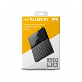 Hd Externo 4Tb Western Digital My Passport Preto Wdbyft0040Bbk