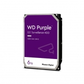 Hd Interno 6Tb Western Digital Purple Sataiii 64Mb Wd60Purz