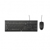 Kit Teclado E Mouse Usb C2500 Preto Hp