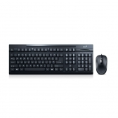 Kit Teclado E Mouse Usb Km-125 Preto Genius