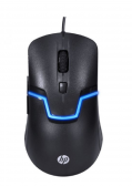 Mouse Óptico Usb Gamer M100S Preto Hp