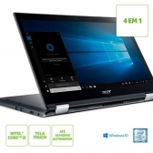Notebook Acer 2 Em 1 Spin 3 Sp314-51-31Rv Core I3 7020U 4Gb 1Tb 14 Windows 10 Home Cinza Metalico