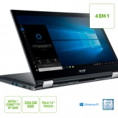 Notebook Acer 2 Em 1 Spin 3 Sp314-51-C3Zz Core I7 8550U 8Gb Ssd 256Gb 14