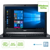 Notebook Acer A515-51-C2Tq Intel Core I7 8550U 8Gb(2X4Gb) 1Tb 15,6