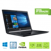 Notebook Acer A515-51G-C690 Intel Core I7 8550U 8Gb 1Tb 15,6 Full Hd Geforce Mx130 2Gb Windows 10 Home