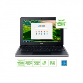 Notebook Acer Chromebook C733-C607 Celeron N4020 4Gb 32Gb Emmc 11,6 Ips Chrome Os (Bateria 45Wh, Tpm, Mil-Std 810G)