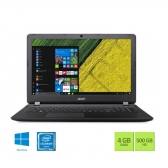 Notebook Acer  Es1-533-C27U Intel Celeron Quad Core N3450 4Gb 500Gb 15,6 Windows 10 Home Preto