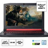 Notebook Acer Gamer Nitro 5 An515-51-78D6 Core I7 7700Hq 16Gb 1Tb 15,6 Fhd Ips Geforce Gtx 1050Ti 4Gb Windows 10 Home