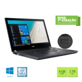 Notebook Acer Travelmate P4 Tmp449-G2-M-317Q Intel Core I3 7100U 4Gb 1Tb 14
