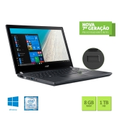 Notebook Acer Travelmate P4 Tmp449-G2-M-513D Intel Core I5 7200U 8Gb 1Tb 14 Windows 10 Pro Preto