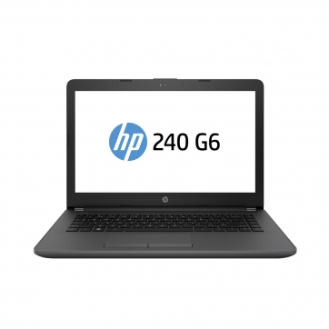 NOTEBOOK HP 240G6 INTEL CORE I3 6006U 4GB 500GB 14 WINDOWS 10 PRO PRETO