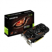 Placa de Video Gigabyte Geforce Gtx 1060 Windforce Oc 6Gb Gddr5 192 Bits Dvi/hdmi/dp - Gv-N1060Wf2Oc-6Gd