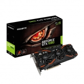 Placa de Video Gigabyte Geforce Gtx 1080 8Gb Gddr5X 256 Bits Dvi/hdmi /dp3 - Pcie 3.0 - Gv-N1080Wf3Oc-8Gd  - Windforce