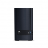 Storage Wd My Cloud Ex2 Ultra Sem Disco Preto Interface Usb E Gigabit Ethernet - Wdbvbz0000Nch