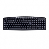 Teclado Multimidia Usb Kb2237Bk Preto C3Tech