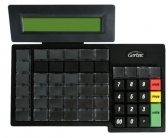 Teclado Programavel Gertec Tec 55 Display Ps2
